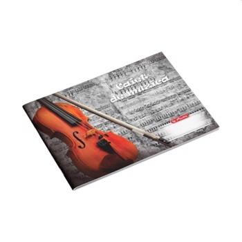 Caiet Herlitz 24 file muzica