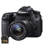 Aparat foto DSLR Canon EOS 70D 20.2 Mpx Kit EF-S 18-55mm IS STM
