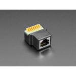 Adaptor priza RJ-45 Ethernet mama la bloc terminal cu arc