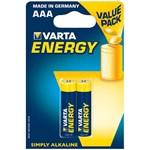 Baterii alcaline Varta R3 AAA energy 2 bucati