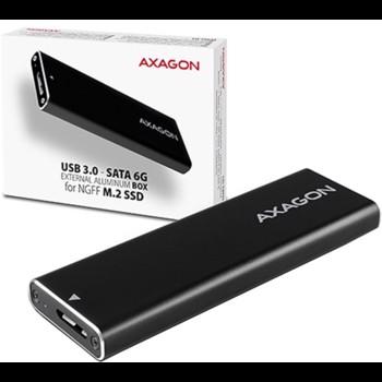 Rack AXAGON EEM2-U3 USB3.0 - M.2 SSD SATA eem2-u3