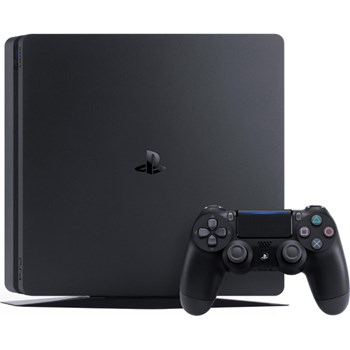 Consola SONY PlayStation 4 Slim (PS4 Slim) 500GB, Jet Black, F-Chassis