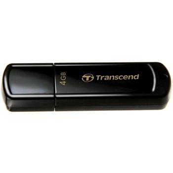 Memorie USB Transcend JetFlash® 350 4GB, USB 2.0, Black