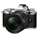 Aparat Foto Mirrorless Olympus E-M5 Mark II silver + EZ-M1240 PRO black v207041se000