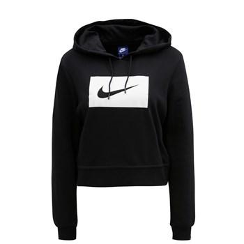 Hanorac scurt negru de dama Nike Hoodie