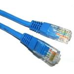 Cablu de retea UTP cat 5e 1m Albastru, Spacer SP-PT-CAT5-1M-BL