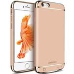 Husa Baterie Ultraslim iPhone 6 Plus/6s Plus, iUni Joyroom 3500mAh, Gold