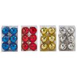 Set 6 zurgalai Auchan din metal, diverse culori, 4 cm