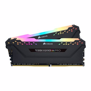 SSD Corsair Vengeance RGB PRO DDR4 16GB (2x8GB) 3200MHz CL16 1.35V XMP 2.0 Black