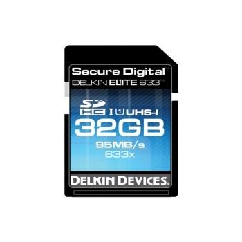 Delkin SDHC 32GB 633X UHS-I - card cu scriere 80MB/s