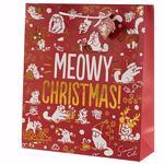 Punga cadou mare - Simon's Cat Meowy Christmas