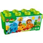 LEGO DUPLO, Prima mea cutie de caramizi cu animale 10863