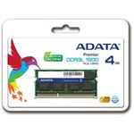 Memorie laptop ADATA 4GB DDR3 1600MHz CL11