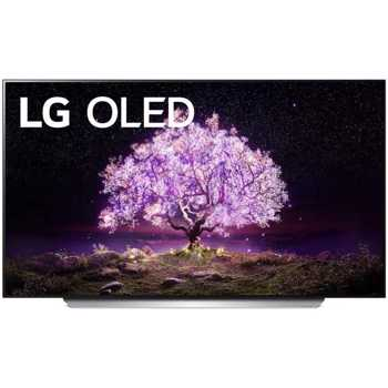 Televizor LED LG OLED55C12LA, 139 cm, 4K OLED, Smart TV, Procesor α9 AI 4K (generația a 4-a), Dolby Atmos, Dolby Vision IQ, Wi-fi, Bluetooth, CI+, Clasa G, Argintiu