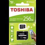 Card de Memorie Toshiba Micro SDXC 256GB M203 Class 10 UHS-I cu Adaptor thn-m203k2560ea