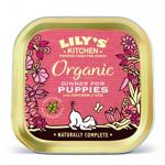 Conserva Caini Lily's Kitchen Puppy Organic cu Pui si Legume, 150 g