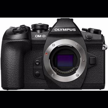 Aparat foto Mirrorless Olympus OM-D E-M1 Mark II 20 Mpx Black Body