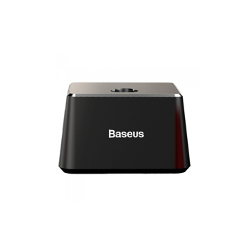 Incarcator Stand Baseus, Desk Docking Station, USB/Lightning Cable 1m, Negru