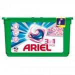 Pachet promo: Detergent capsule Ariel 3in1 PODS Touch of Lenor, 42 spalari + Pachet promo: Balsam de rufe Lenor Spring, 63 spalari, 1.9L + Perle parfumate pentru rufe Lenor Unstoppables Fresh, 180g