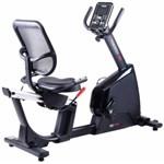 Bicicleta fitness, cu spatar, de recuperare, orizontala, TOORX BRX-R300, Greutate volanta: 14 kg, Greutate utilizator: 150 kg, Compatibil cu Kinomap Fitness App, Suport smartphone/tableta