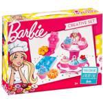 Jucarie de rol MEGA CREATIVE Barbie cofetarie MC339651, 3 ani+, multicolor