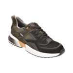 Pantofi sport GEOX kaki, U04AUA, din piele intoarsa