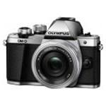 Aparat foto Mirrorless Olympus E-M10 Mark II Argintiu Kit EZ-M1442EZ Pancake v207052se000
