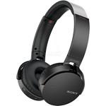 Casti on-ear cu microfon SONY MDR-XB650BTB, Bluetooth, Wireless, NFC, Extra-BASS, Negru