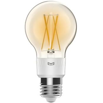 Bec Yeelight Smart Filament Bulb YLDP12YL, 6 W, 700 lm, Wifi, Control vocal si aplicatie (Alb)