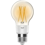 Bec Yeelight Smart Filament Bulb YLDP12YL, 6 W, 700 lm, Wifi, Control vocal si aplicatie (Alb)