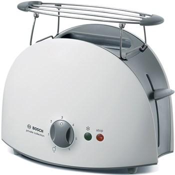 Prajitor de paine Bosch TAT6101, 900 W, 2 felii de paine, Alb/Gri
