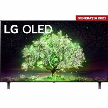 Televizor Smart OLED, LG OLED55A13LA, 139 cm, Ultra HD 4K