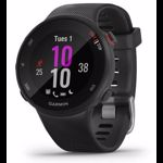 Ceas activity outdoor tracker Garmin Forerunner 45S, Bluetooth, GPS (Negru)