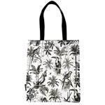 Tote Bag - Exotic Birds and Palmtrees