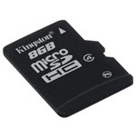 Flash Memory Card Micro SDHC 8GB Speed Class 4 No Adapter