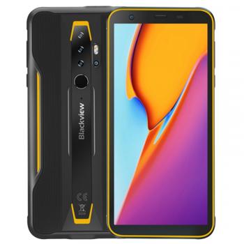 Telefon mobil Blackview BV6300 Pro, 4G, IPS 5.7 , 6GB RAM, 128GB ROM, Android 10, Helio P70 OctaCore, IP69K, 4380mAh, Dual SIM, Galben