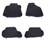 REZAW-PLAST Set covorase auto din cauciuc pentru Seat, Skoda, Vw, Rezaw Plast, Negru, 4 Buc