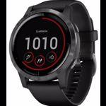Smartwatch Garmin Vivoactive 4 Slate Gray, Silicone Black