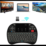 Tastatura SMART Rii i8X, Iluminata, Wireless pentru Google TV, Android, PC