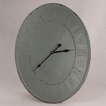 Ceas din metal de perete Dakls Rusto Duro, ⌀ 45 cm