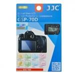 JJC Folie protectie ecran sticla optica pentru Canon EOS 70D/80D