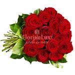 23 trandafiri rosii