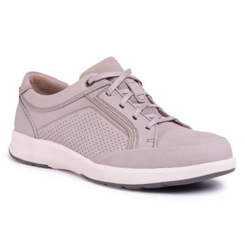 Pantofi CLARKS - Un Trail Form 261485507 Stone Nubuck