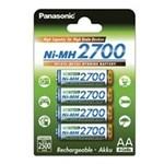 Pachet acumulator 4buc. Panasonic NiMh 2700mAh AA