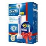 Periuta electrica Oral B Vitality D12-513 3D White + 2 rezerve EB18-2 D12.513W + EB18-2