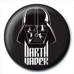 Insigna - Star Wars Darth Vader Black