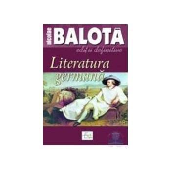 Literatura germana - Nicolae Balota 973-1727-00-0