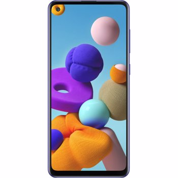 Telefon mobil Samsung Galaxy A21s, Dual SIM, 32GB, 4G, Prism Crush Blue