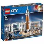 LEGO City Space Port - Racheta pentru spatiul indepartat si centrul de comanda al lansarii 60228