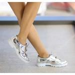 Pantofi Casual Dida Argintii